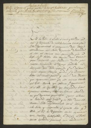 Primary view of object titled '[Manifest Supporting a Republic]'.