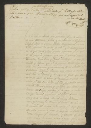 Primary view of object titled '[Statement of a Land Transaction]'.