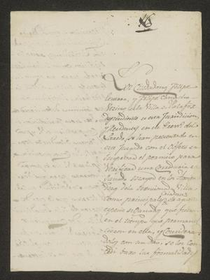 Primary view of [Letter from Ramón Patiño to the Laredo Alcalde, August 21, 1823]