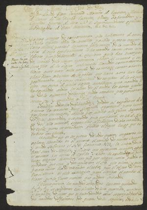 Primary view of object titled '[Two Documents Concerning Coins]'.