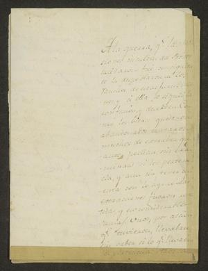 Primary view of object titled '[Two Letters from Josef Marcelo de Inojosa to the Laredo Ayuntamiento]'.