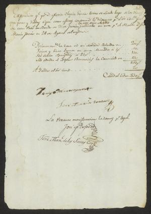 Primary view of [List of Possessions from María Chapita García]