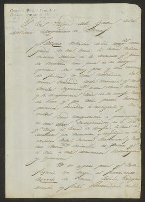 Primary view of [Statement from Felipe de la Garza]