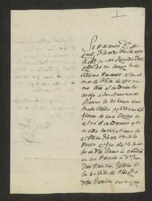 Primary view of [Letter from José Manuel González to José María Tovar, July 5, 1823]