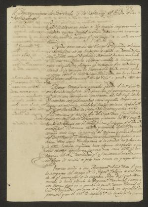 Primary view of object titled '[Correspondence between the San Carlos and Laredo Ayuntamientos]'.