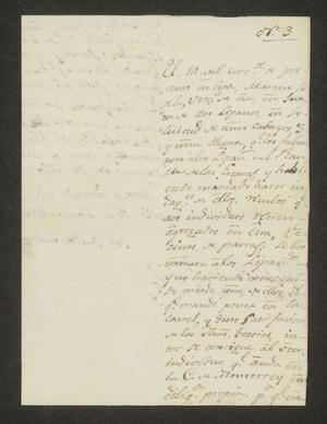 Primary view of object titled '[Letter from José Antonio de Cuellar to the Alcalde in Laredo, June 15, 1826]'.