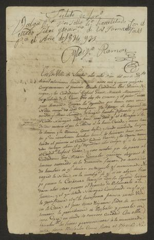 Primary view of [Statement Concerning an Orphan Girl]