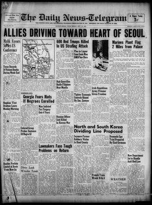 The Daily News-Telegram (Sulphur Springs, Tex.), Vol. 52, No. 229, Ed. 1 Monday, September 25, 1950