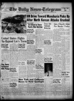 The Daily News-Telegram (Sulphur Springs, Tex.), Vol. 52, No. 260, Ed. 1 Tuesday, October 31, 1950