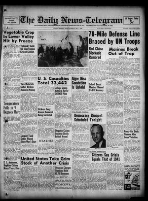 The Daily News-Telegram (Sulphur Springs, Tex.), Vol. 52, No. 291, Ed. 1 Thursday, December 7, 1950