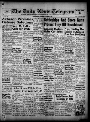 The Daily News-Telegram (Sulphur Springs, Tex.), Vol. 52, No. 300, Ed. 1 Monday, December 18, 1950