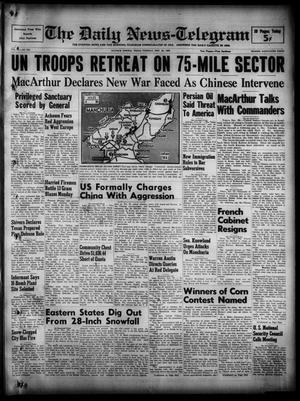 The Daily News-Telegram (Sulphur Springs, Tex.), Vol. 52, No. 283, Ed. 1 Tuesday, November 28, 1950