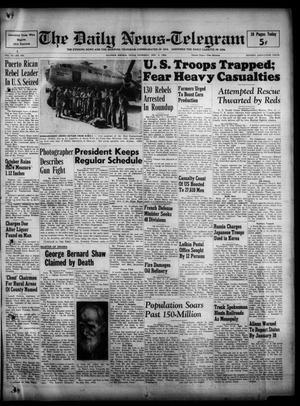 The Daily News-Telegram (Sulphur Springs, Tex.), Vol. 52, No. 262, Ed. 1 Thursday, November 2, 1950