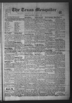 The Texas Mesquiter (Mesquite, Tex.), Vol. 64, No. 34, Ed. 1 Friday, February 1, 1946