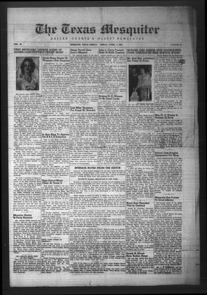 The Texas Mesquiter (Mesquite, Tex.), Vol. 64, No. 43, Ed. 1 Friday, April 5, 1946
