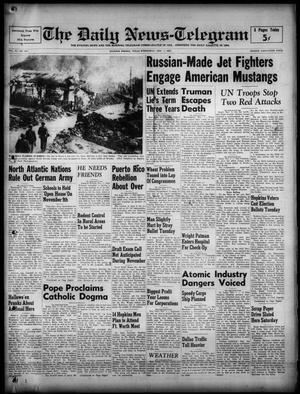 The Daily News-Telegram (Sulphur Springs, Tex.), Vol. 52, No. 261, Ed. 1 Wednesday, November 1, 1950