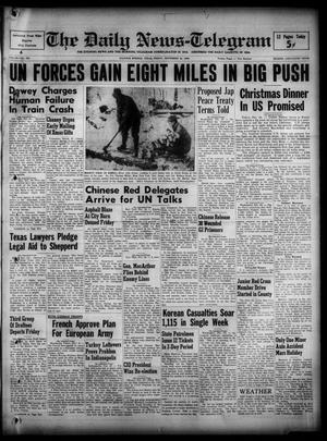 The Daily News-Telegram (Sulphur Springs, Tex.), Vol. 52, No. 280, Ed. 1 Friday, November 24, 1950
