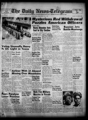The Daily News-Telegram (Sulphur Springs, Tex.), Vol. 52, No. 266, Ed. 1 Tuesday, November 7, 1950