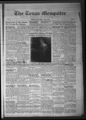 The Texas Mesquiter (Mesquite, Tex.), Vol. 65, No. 11, Ed. 1 Friday, August 23, 1946