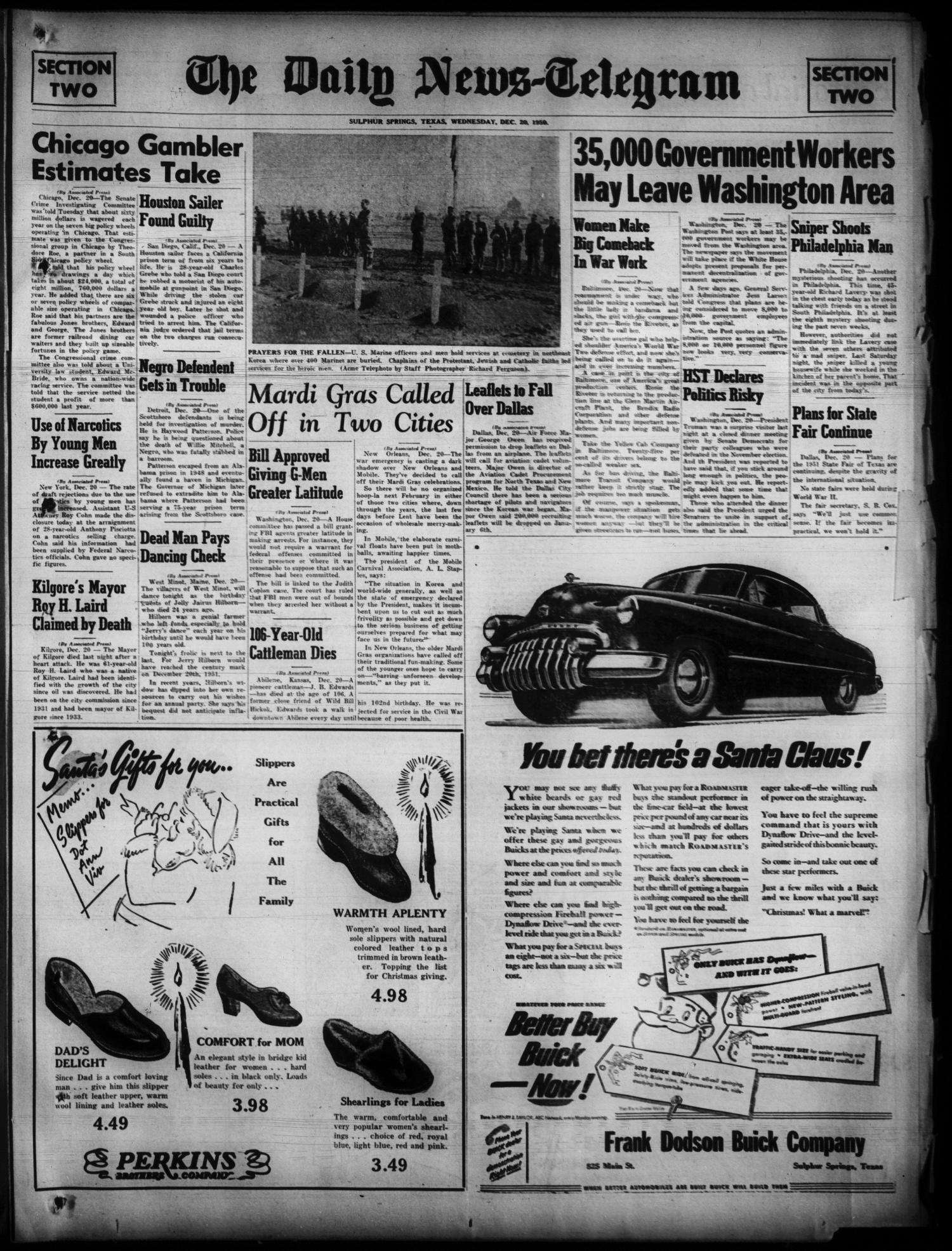 The Daily News-Telegram (Sulphur Springs, Tex ), Vol  52, No