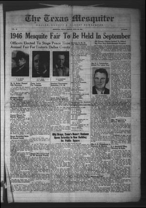 The Texas Mesquiter (Mesquite, Tex.), Vol. 65, No. 7, Ed. 1 Friday, July 26, 1946
