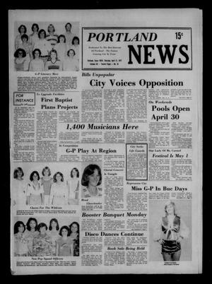 Primary view of object titled 'Portland News (Portland, Tex.), Vol. 12, No. 16, Ed. 1 Thursday, April 21, 1977'.