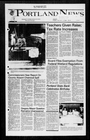 Primary view of object titled 'Portland News (Portland, Tex.), Vol. 22, No. 34, Ed. 1 Thursday, August 25, 1988'.