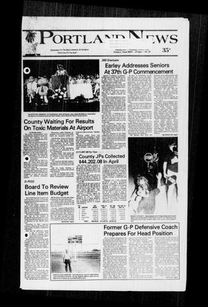 Primary view of object titled 'Portland News (Portland, Tex.), Vol. 22, No. 22, Ed. 1 Thursday, June 2, 1988'.