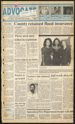 Cleveland Advocate (Cleveland, Tex.), Vol. 73, No. 28, Ed. 1 Friday, July 13, 1990