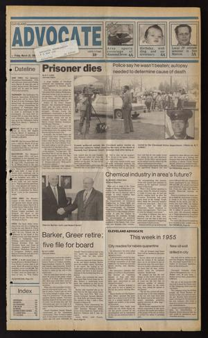 Cleveland Advocate (Cleveland, Tex.), Vol. 69, No. 11, Ed. 1 Friday, March 18, 1988