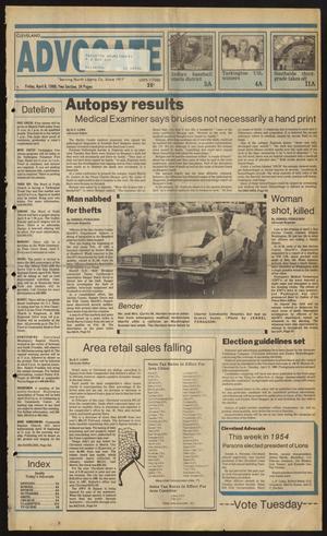 Cleveland Advocate (Cleveland, Tex.), Vol. 69, No. 14, Ed. 1 Friday, April 8, 1988