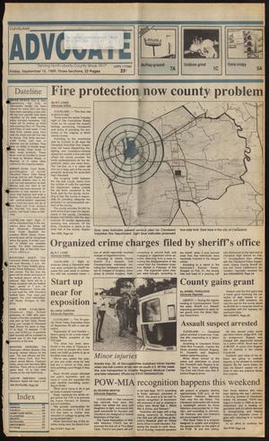 Cleveland Advocate (Cleveland, Tex.), Vol. 72, No. 37, Ed. 1 Friday, September 15, 1989