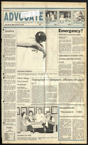 Cleveland Advocate (Cleveland, Tex.), Vol. 69, No. 20, Ed. 1 Friday, May 20, 1988