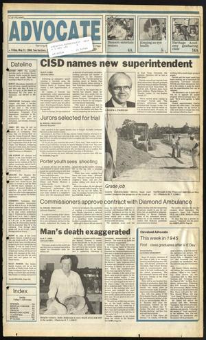 Cleveland Advocate (Cleveland, Tex.), Vol. 69, No. 21, Ed. 1 Friday, May 27, 1988