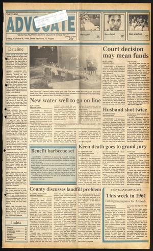 Cleveland Advocate (Cleveland, Tex.), Vol. 72, No. 40, Ed. 1 Friday, October 6, 1989
