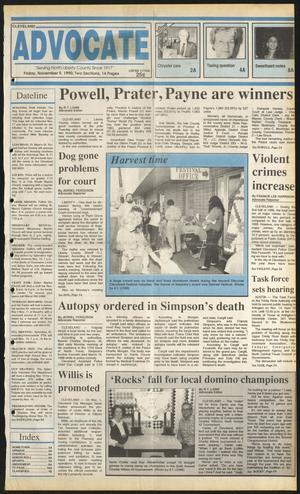Cleveland Advocate (Cleveland, Tex.), Vol. 73, No. 45, Ed. 1 Friday, November 9, 1990