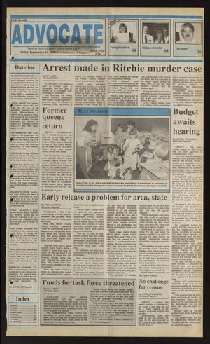 Cleveland Advocate (Cleveland, Tex.), Vol. 73, No. 38, Ed. 1 Friday, September 21, 1990