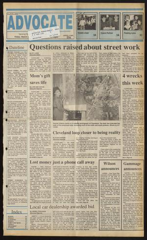 Cleveland Advocate (Cleveland, Tex.), Vol. 73, No. 9, Ed. 1 Friday, March 2, 1990