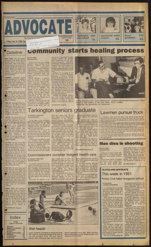 Primary view of Cleveland Advocate (Cleveland, Tex.), Vol. 69, No. 23, Ed. 1 Friday, June 10, 1988