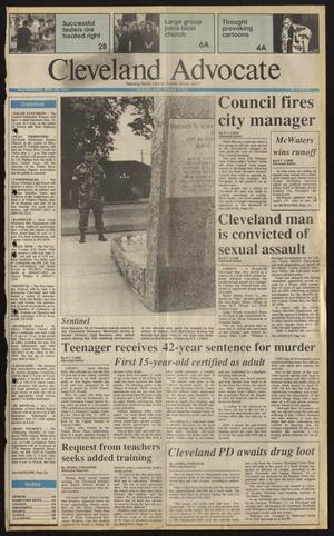 Primary view of Cleveland Advocate (Cleveland, Tex.), Vol. 74, No. 22, Ed. 1 Wednesday, May 29, 1991