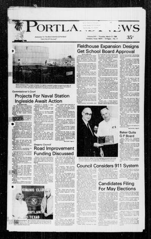 Primary view of object titled 'Portland News (Portland, Tex.), Vol. 22, No. 11, Ed. 1 Thursday, March 17, 1988'.
