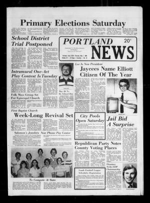 Primary view of object titled 'Portland News (Portland, Tex.), Vol. 15, No. 18, Ed. 1 Thursday, May 1, 1980'.