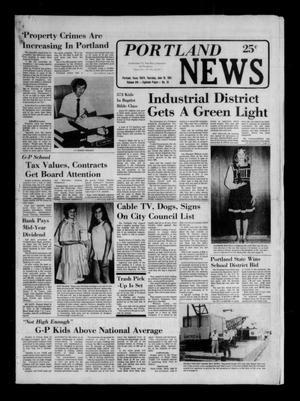 Portland News (Portland, Tex.), Vol. 16, No. 25, Ed. 1 Thursday, June 18, 1981