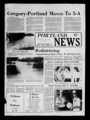 Primary view of object titled 'Portland News (Portland, Tex.), Vol. 16, No. 45, Ed. 1 Thursday, November 5, 1981'.