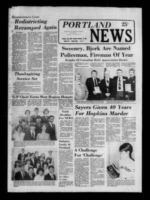 Portland News (Portland, Tex.), Vol. 16, No. 47, Ed. 1 Thursday, November 19, 1981