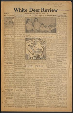 Primary view of object titled 'White Deer Review (White Deer, Tex.), Vol. 16, No. 47, Ed. 1 Friday, February 2, 1940'.