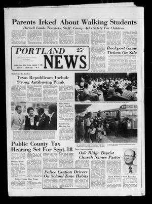 Primary view of object titled 'Portland News (Portland, Tex.), Vol. 15, No. 37, Ed. 1 Thursday, September 11, 1980'.