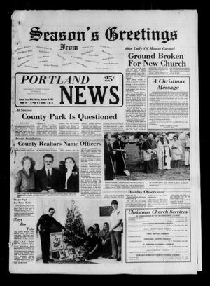 Primary view of object titled 'Portland News (Portland, Tex.), Vol. 16, No. 52, Ed. 1 Thursday, December 24, 1981'.