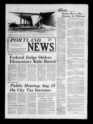 Portland News (Portland, Tex.), Vol. 15, No. 33, Ed. 1 Thursday, August 14, 1980