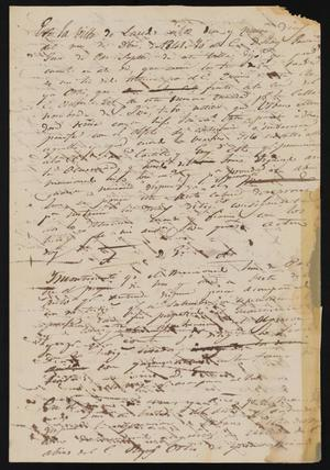 Primary view of object titled '[Rough Draft Copy of an Investigation]'.